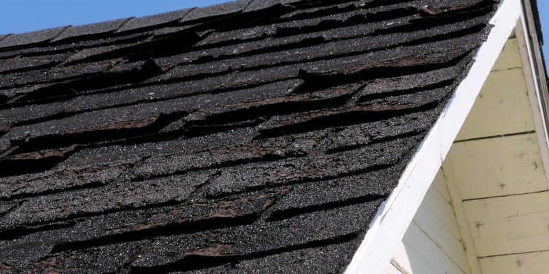 Roof Damage in Hickory, North Carolina