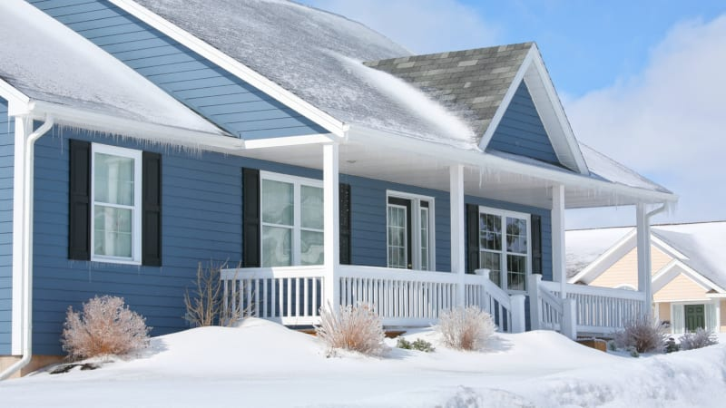 Keeping your residential roofing intact and undamaged during harsh winter weather can be difficult.