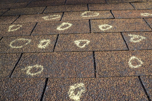How to Spot a Storm-Damaged Roof from the Ground