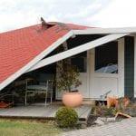 Storm-Damaged Roof, Morganton, NC