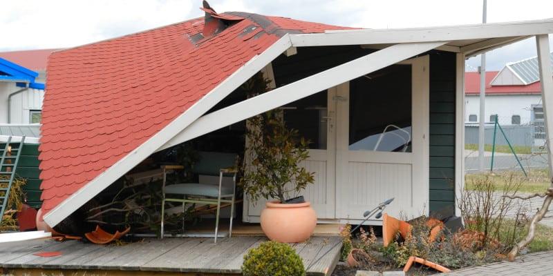 Storm Damaged Roof Repair - Brajar Roofing Company - North Carolina