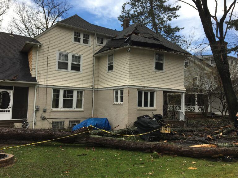 Roof Damage Repair - Brajar Roofing Company - North Carolina